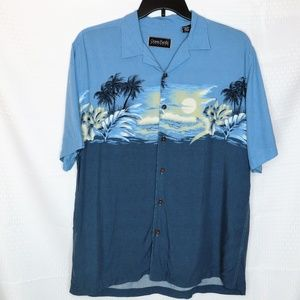 Men's Ocean Pacific Casual Button Down Shirt